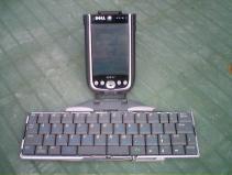 Dell Axim & Keyboard